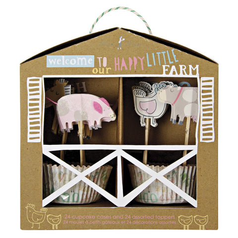 happy little farm cupcake kit