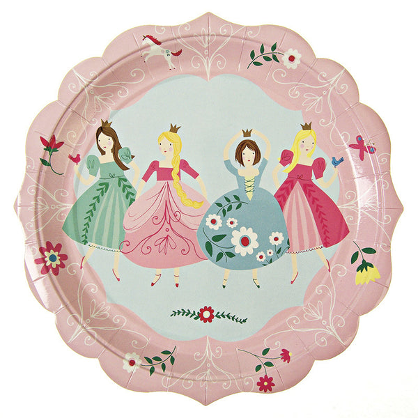 I'm a Princess party plates
