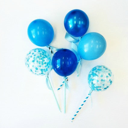MINI BLUE BALLOON POPS