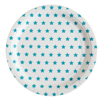 Party Stars! Blue party plates