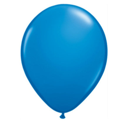 dark blue party balloons