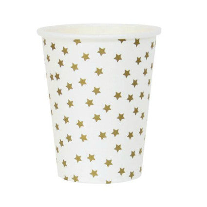 Party Stars gold star cups