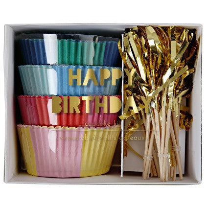 Happy birthday cupcake kit