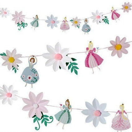 I'm a princess party garland