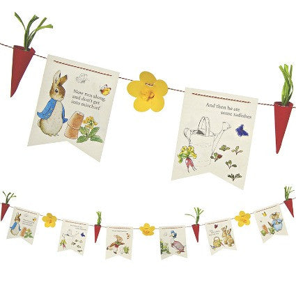 Peter Rabbit party garland