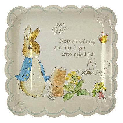 Peter Rabbit large scallop plates