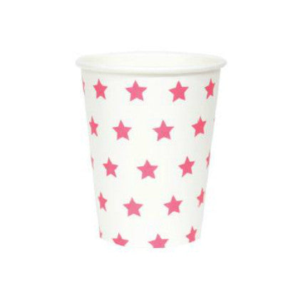 Party Stars! Pink party cups