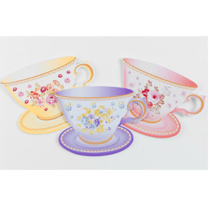teacup invitations