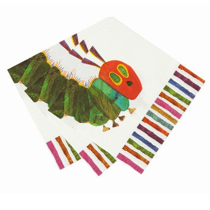 The Very Hungry Caterpillar large napkins