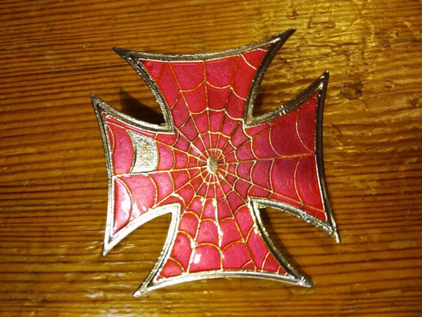 "Buckle ""Spider Cross"""