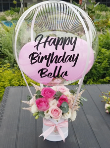 Deluxe Floral Hot Air Balloon Bouquet