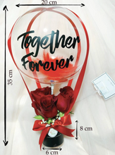 Load image into Gallery viewer, I LOVE YOU Mini Hot Air Balloon Bouquet