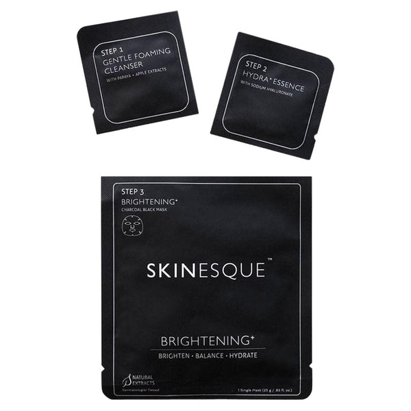 Skinesque Masks - Brightening + Charcoal