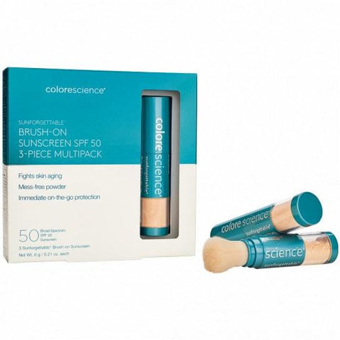 Colorescience Sunforgettable® Brush-on Shield multipack
