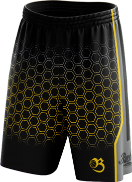 Honeycomb Shorts - Black
