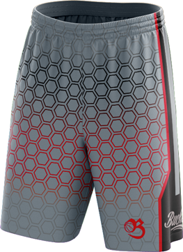Honeycomb Shorts - Silver