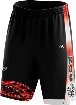 ROC Skyline Shorts - Red