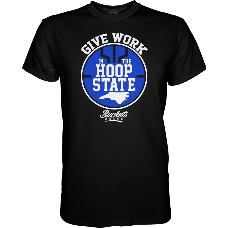 HoopState Regional Tee - Black