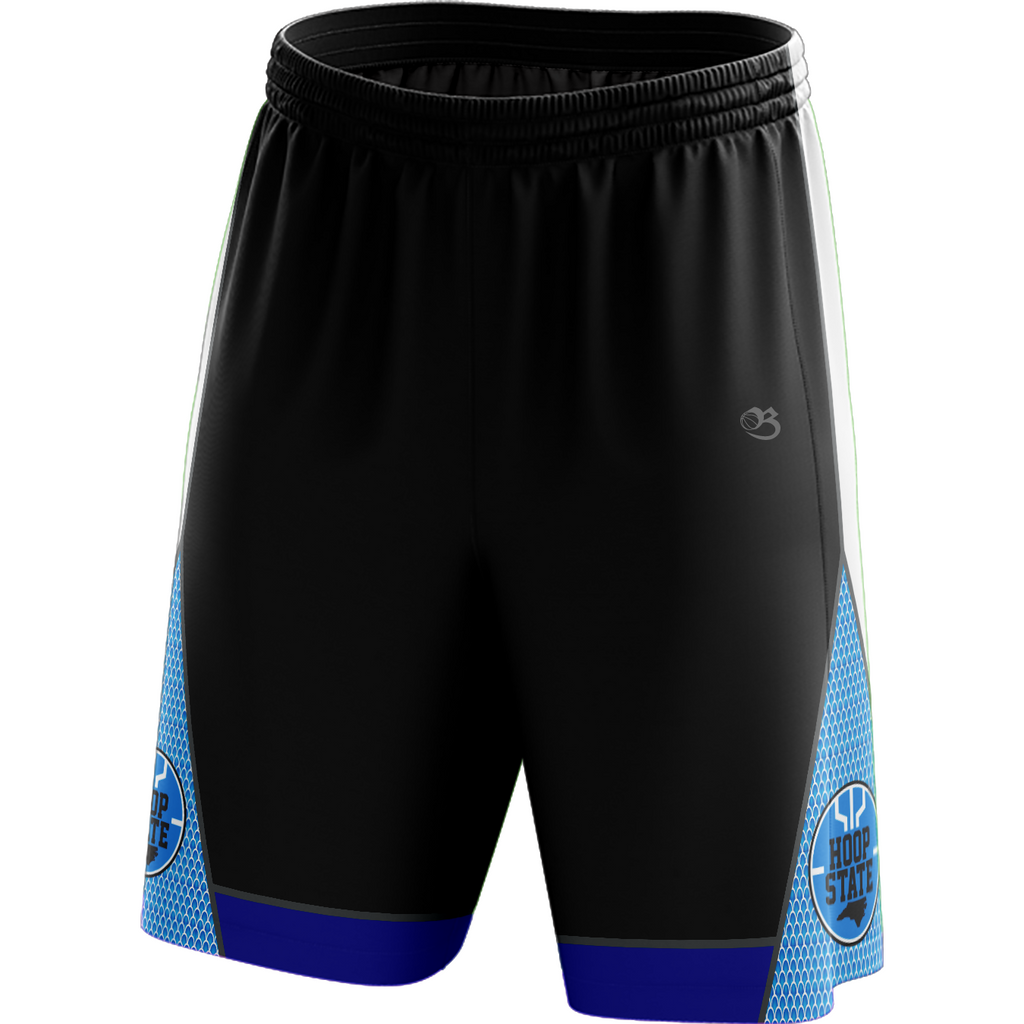 Hoop State Shorts - Black