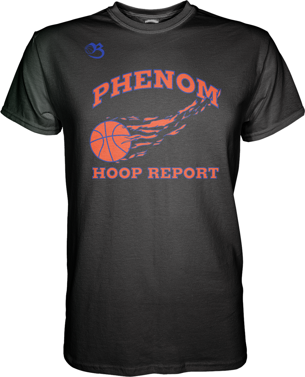 Phenom Hoop Report Flagship Tee - Black