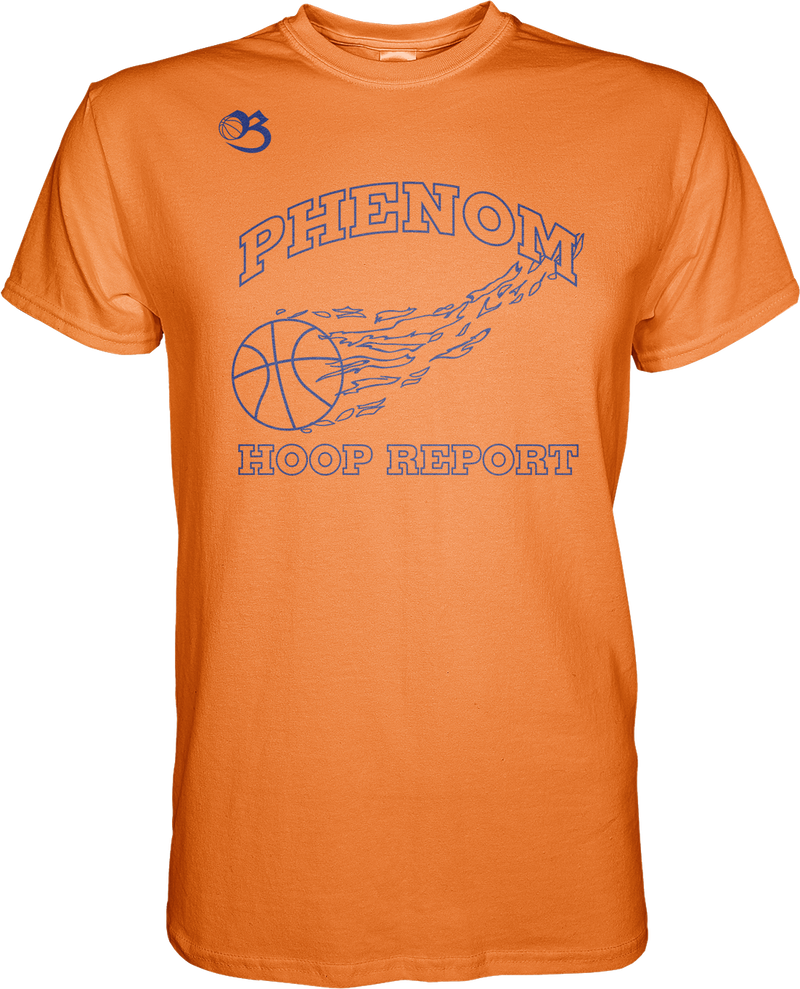 Phenom Hoop Report Flagship Tee - Orange