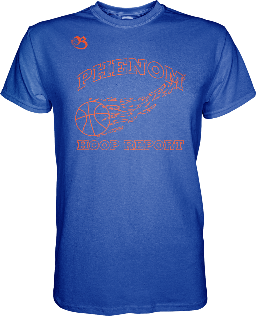 Phenom Hoop Report Flagship Tee - Blue
