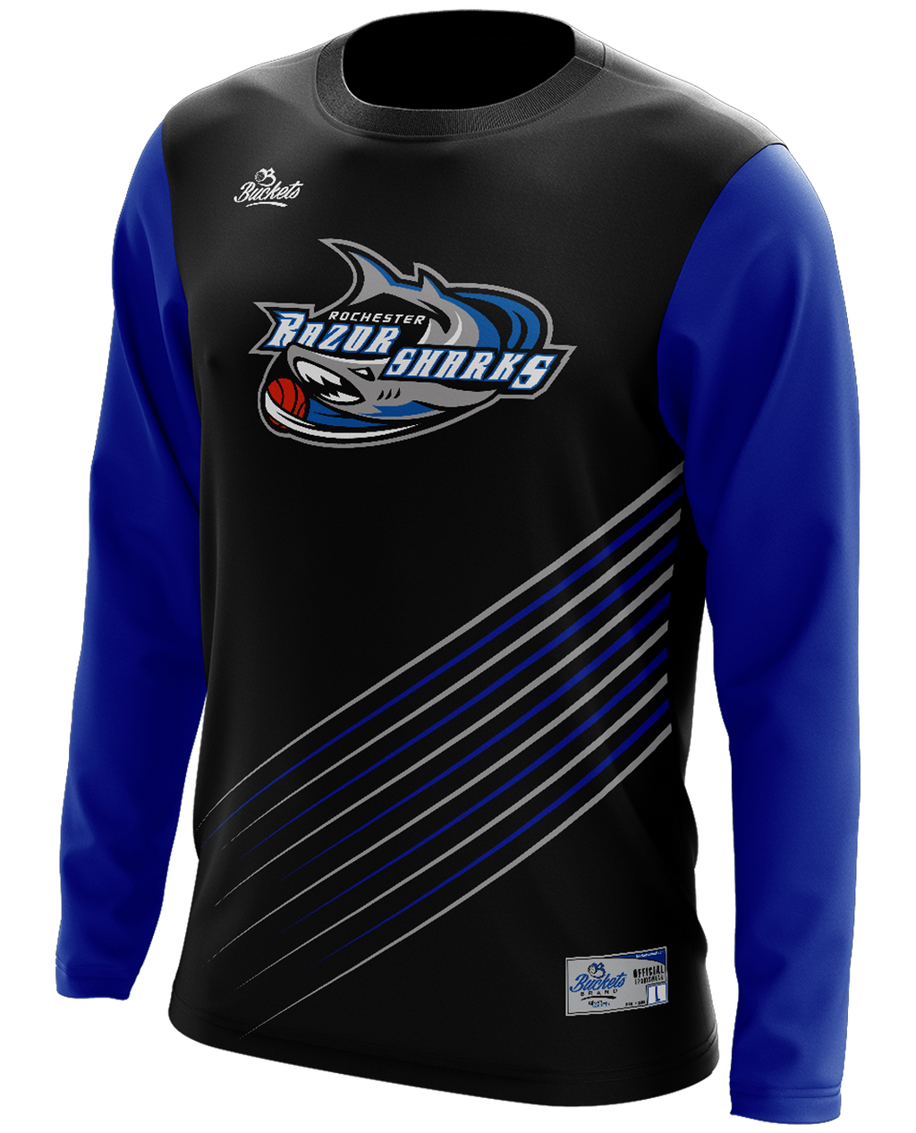 Youth Razorshark All In Motion Shooting Shirt