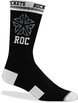 ROC City Symbol Socks Black