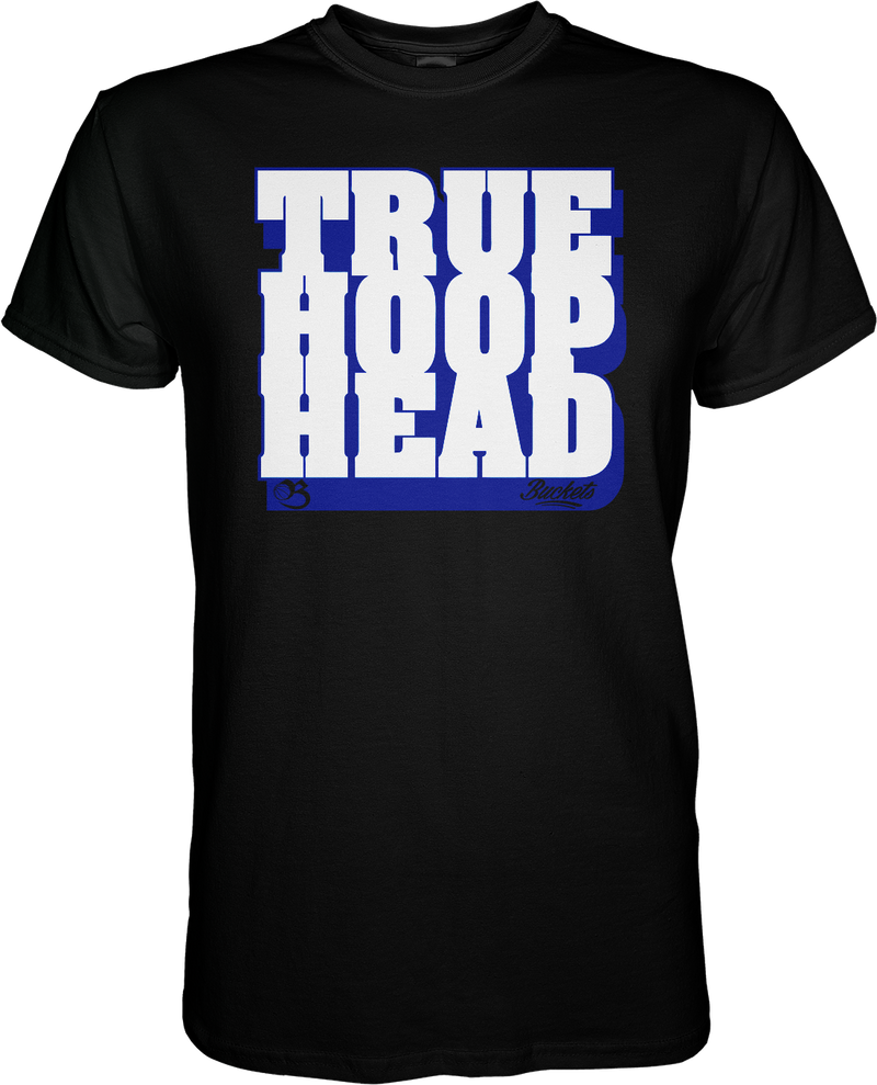 True Hoop Head - Black & Blue