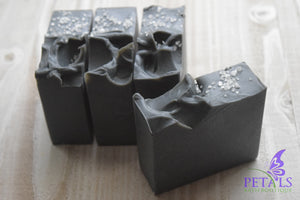 DETOX Activated Charcoal & Tea Tree Essential Oil Natural Soap