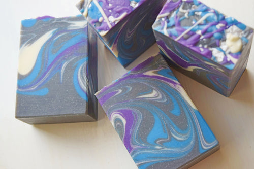 Galaxy Swirl Handmade Soap