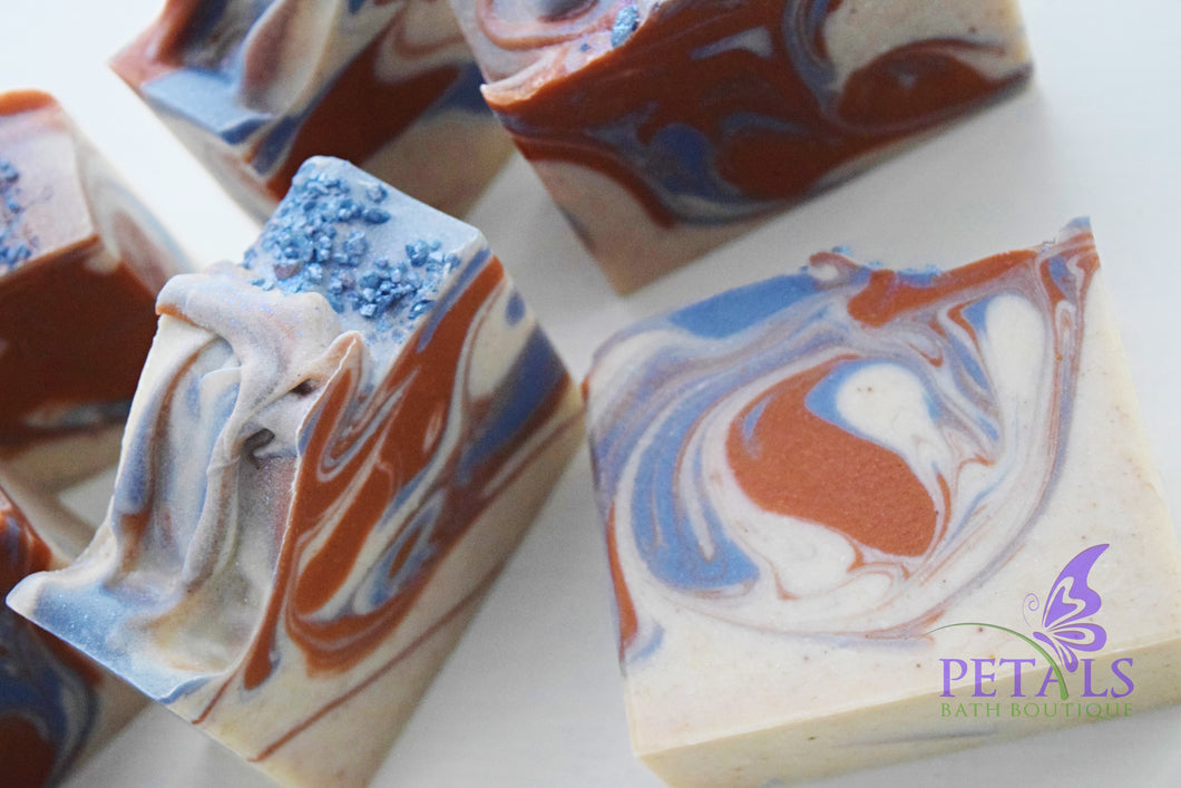 Sunset Sandalwood Handmade Soap