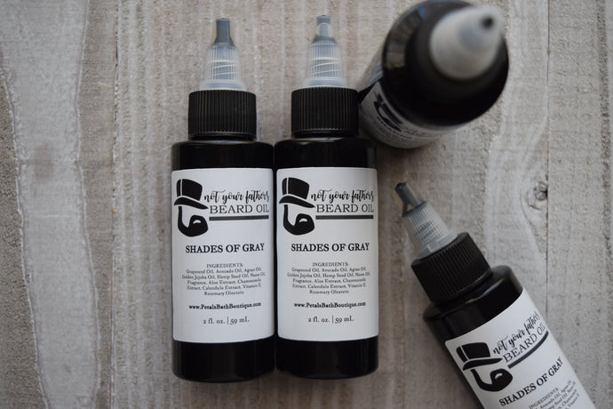 Not Your Father's Beard Oil - Shades of Gray
