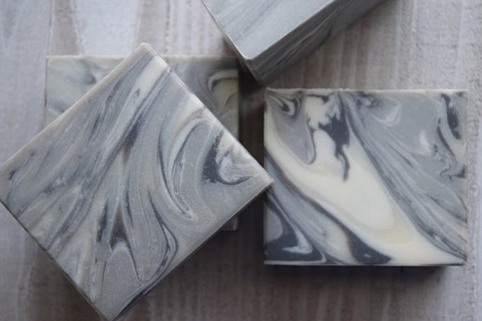 Shades of Gray Handmade Soap