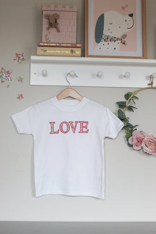 Child's Liberty Love Tee