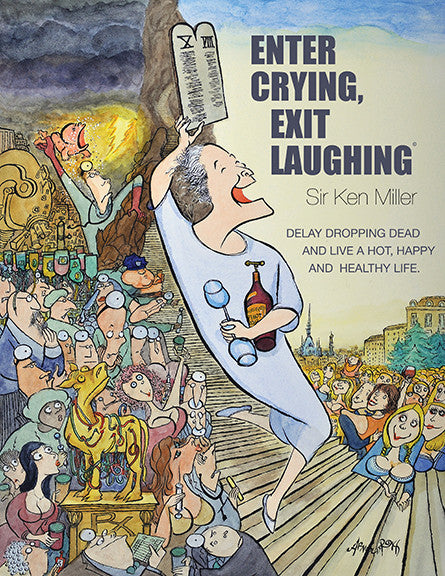 Enter Crying, Exit Laughing - Soft Cover book