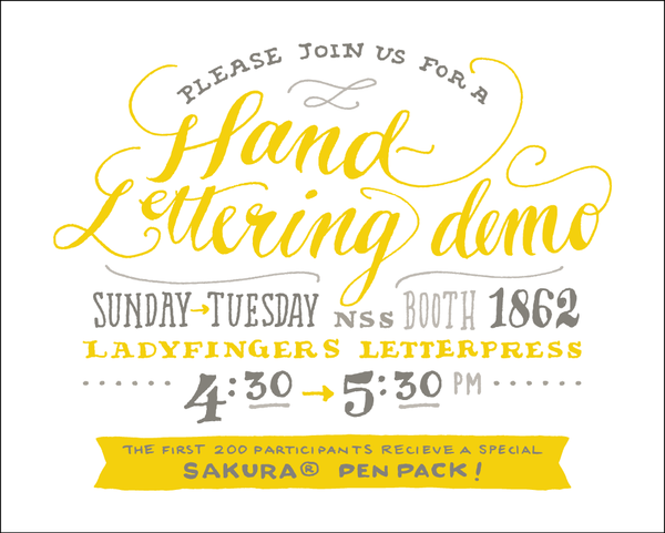 Hand-Lettering Demo