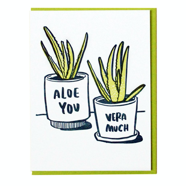 Aloe You Card by And Here We Are