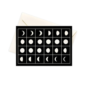 Moon Phase Boxed Notes by Seltzer Goods