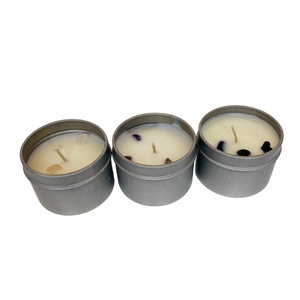 Set of 3 Travel Sized Candles by Cultivating Luminescence