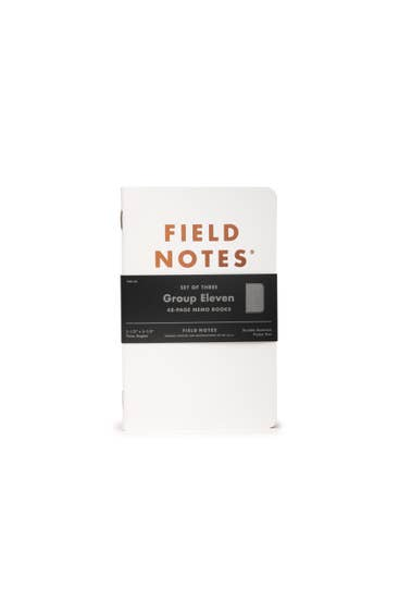 Group Eleven Notebook - Field Notes