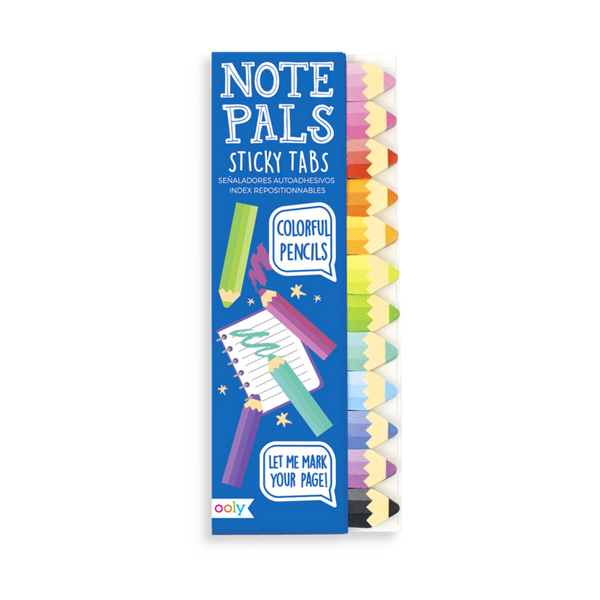 Note Pals Sticky Note Pad - Colorful Pencils
