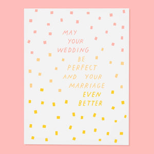 Perfect Wedding Card by The Good Twin