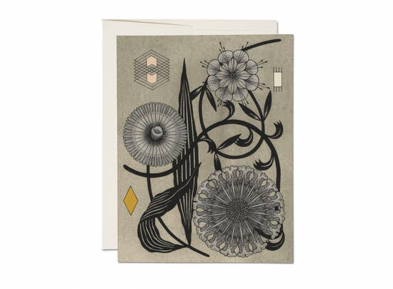 Floral Geometry by Red Cap Cards