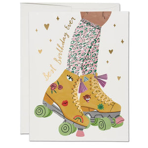 Roller Skate by Red Cap Cards