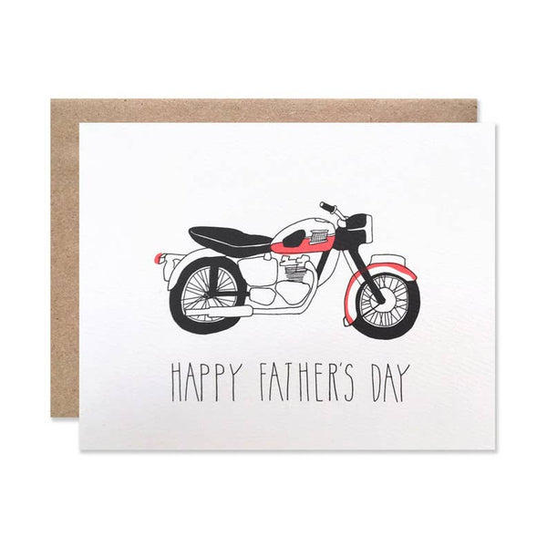 Father's Day Moto Card by Hartland Brooklyn