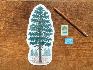 Pine Tree Postcard by Noteworthy Paper & Press