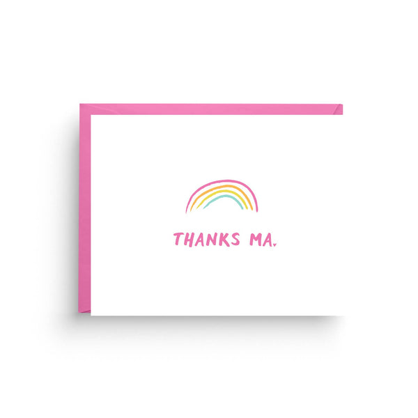Thanks Ma Card by Nicole Marie Paperie
