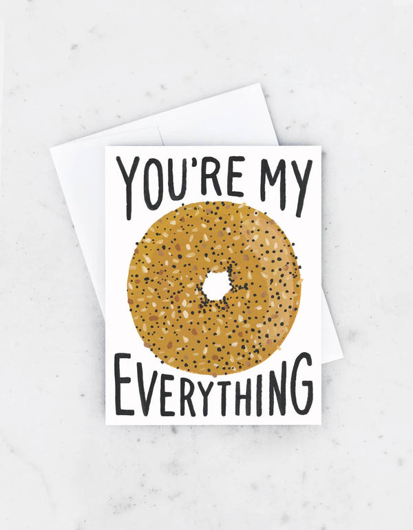 Everything Bagel Card by Idlewild