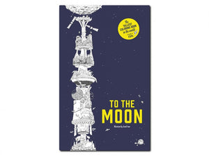 To the Moon - 15 ft Fold-Out Coloring Book